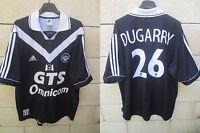 Maillot GIRONDINS DE BORDEAUX 2000 ADIDAS DUGARRY n°26 shirt football vintage L
