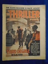 The Thriller Library # 509  November 5th 1938