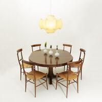 tavolo allungabile modello SP 209 di Giovanni Ausenda per Stilwood, anni 60