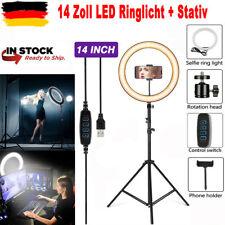14'' Dimmbares LED Ringlicht 35cm Ringlicht Lampe Make-up Fotolicht Lampe DE