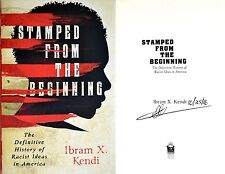 Ibram X. Kendi~SIGNED & DATED~Stamped from the Beginning~1st/1st+Photos!
