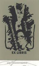 Ex Libris Willy Braspennincx : Opus 4, Willy Braspennincx
