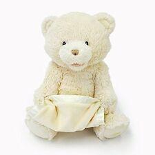 Gund Peek-A-Boo Teddy Bear Animated Stuffed Animal  CREAM