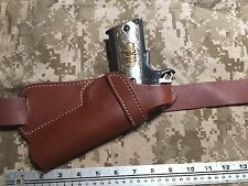 Colt Springfield Remington Kimber RIA 1911 Small of the Back SOB Leather Holster