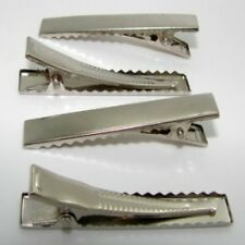 25 x 20mm alligator clip with teeth for hair clip making