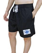 Men's Swimwear Diamond CBF Brasil Shorts Bermuda Shorts Black M To XXL