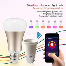 Smart à variation Led RGB Ampoule Lumière Avec/Amazone Alexa WIFI Télécommande