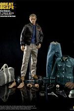 La Grande Évasion Figurine 1/6 Steve McQueen Capt. Virgil Hilts Deluxe 30 cm