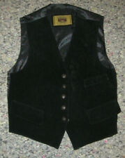 Vintage American Clothing Co Genuine Mens Medium Leather Vest