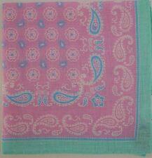 IKE BEHAR New York 100% LINEN Pocket Square Pochette Handkerchief