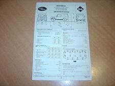 Fiche technique Regla'tech l'Expert automobile Land Rover 90 & 110 Turbo Diesel
