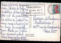 FRANCEVILLE (14) MINI-GOLF, JEUX de PLAGE, BLASON & REGATE en 1963