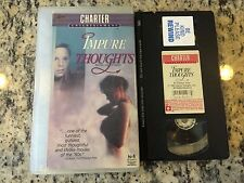 IMPURE THOUGHTS RARE CHARTER VHS! NOT ON U.S. DVD 1985 BRAD DOURIF COMEDY 1960's
