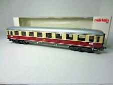 MARKLIN 4085 GERMAN FEDERAL RAILWAYS TEE PASSENGER CAR SET