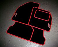 Ford Focus & Fiesta Fitted Car Mats (All Models) + ST Logos (x2) - Colour Choice