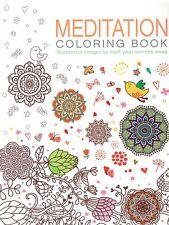 Arcturus Coloring Books.: Meditation Coloring Book (2015, Paperback)