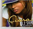 (FK573) Ciara ft Missy Elliott, 1 2 Step - 2005 CD