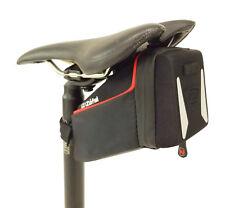 Zefal Iron Pack L-TF Bicycle Saddle Back, Black, Large, 0.8L