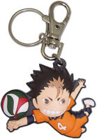 *Legit* Haikyuu Anime Keychain Karasuno High Guardian Deity Yu Nishinoya #85116