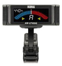 Korg AW-LT100G Clip-On Guitar Tuner Black