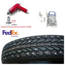 1000PCS Car Tires Studs Screw Tyre Snow Chains Studs Tire Nail+Red Air Gun Tool