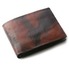 OHM Leather New York Wallet in Tiger Print Multi Color