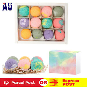 12Pcs Organic Bath Bombs Salt Ball Balls Set Natural Handmade Foot Spa Bomb AU