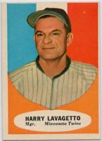 1961 Topps #226 Harry Lavagetto Near Mint+ Pack Fresh TWINS FREE SHIPPING