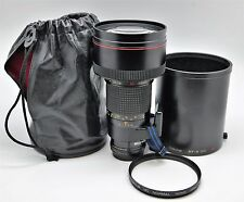 Tokina AT-X SD 300mm F2.8 (NIKON FX FULL FRAME) With filter, hood & bag.