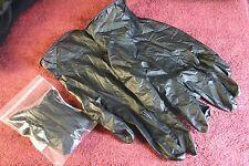 6 pr. IFAK Black Non Reflective Nitrile Medic Gloves, Large Tad bit of EDC Gear