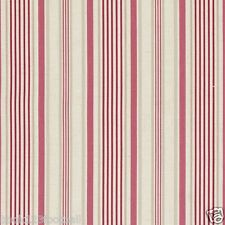 CLARKE and CLARKE (STUDIO G) 100% COTTON CURTAIN FABRIC/CRAFT BELLE Raspberry