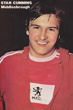 Foto de fútbol > Stan Cummins Middlesbrough 1977-78