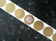 """25 Round 1.5"""" inch GOLD SCRATCH OFF STICKERS LABELS Tabs TICKETS GAME FAVOR"""