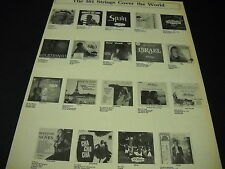 101 Strings Cover The World rare original 1973 Promo Display Ad mint condition