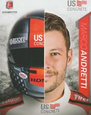 2018 Marco Andretti US Concrete Honda Dallara Indy Car postcard