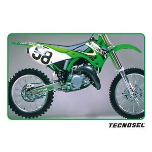 Copertina sella coprisella Kawasaki Kx 125 250 1999 2000 2001 2002 Tecnosel