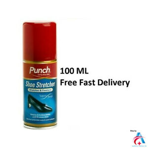 PUNCH Shoe Stretch Spray/Leather Shoe/Boot Stretcher & Pain Relief/Boot Softener