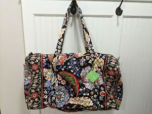 """VERA BRADLEY """"Versailles"""" Duffel Bag Quilted Oversized -  NWT New!"""