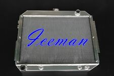 3 ROWS ALUMINUM RADIATOR FOR 1966-70 Chrysler Imperial Dodge Plymouth Fury V8