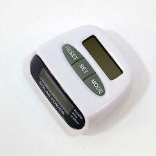 Contapassi digitale energia solare PEDOMETRO contatore conta calorie passi KM