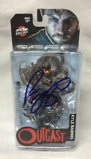 Patrick Fugit SIGNED Outcast Kyle Barnes TV Action Figure PHOTO PROOF Skybound