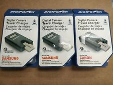 Lot of 3 Brand New Digipower TC-55SG Travel Charger for Samsung Digital Camera
