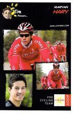 CYCLISME carte cycliste MARYAN HARY équipe COFIDIS 2009