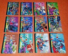 OVERPOWER TEAMWORK DC SET 12 Superman Catwoman Poison Ivy Batman Supergirl