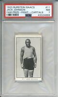 1923 Burstein Issacs JACK JOHNSON #11 PSA 7 NM Prize Fighters 2nd Highest Graded
