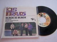 EP 4 TITRES VINYLE 45 T , LOS BRAVOS BLACK IS BLACK . EX / VG + . BARCLAY 71050