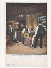 Badische Volkstrachten Kinzigthaeler Aus Lehensgericht U/B Postcard Germany 395a
