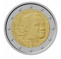2 Euro Finnland 2020 100. Geburtstag von Väinö Linna