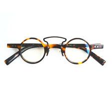 Vintage Fashion Small Round Designer Eyeglass Frames Acetate Full Rim Glasses