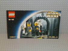 LEGO® Star Wars Bauanleitung 7201 Final Duel II BA gelocht B1306